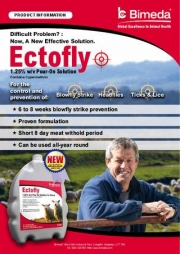 Ectofly pour on for sheep